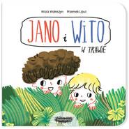 okładka Jano i Wito W trawie, Książka | Wołoszyn Wiola