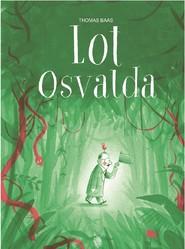 okładka Lot Osvalda, Książka   Baas Thomas