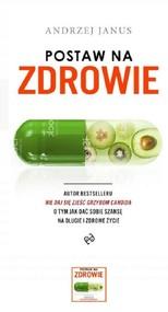 okładka Postaw na zdrowie, Książka | Janus Andrzej