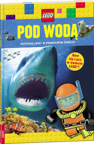 okładka Lego Pod wodą LDJM-1, Książka | Penelope Arlon, Tory Gordon-Harris