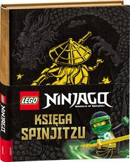 okładka Lego Ninjago Księga Spinjitzu, Książka |