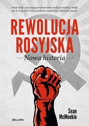 okładka Rewolucja rosyjska Nowa historia, Książka | McMeekin Sean