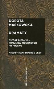 okładka Dramaty, Książka | Dorota Masłowska