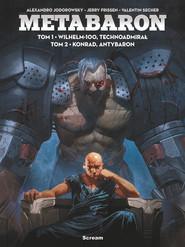 okładka Metabaron Tom 1-2, Książka   Jerry Frissen