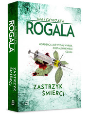 okładka Zastrzyk śmierci, Książka   Małgorzata Rogala