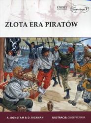 okładka Złota era piratów, Książka | Angus Konstam, David Rickman