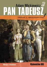 okładka Pan Tadeusz, Książka   Adam Mickiewicz