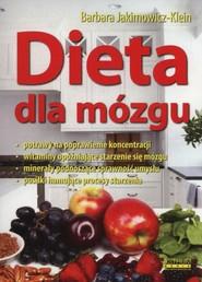 okładka Dieta dla mózgu, Książka | Barbara Jakimowicz-Klein