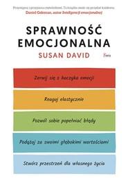 okładka Sprawność emocjonalna, Książka | Susan David