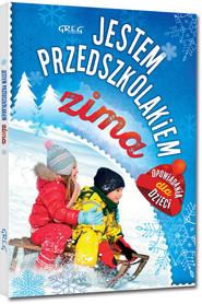 okładka Jestem przedszkolakiem zima, Książka   Antosiewicz Agnieszka