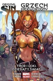 okładka Original Sin Grzech pierworodny Thor i Loki, Książka | Aaron Jason, Al Ewing, Simone Bianchi, Lee Garbett