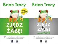 okładka Zjedz tę żabę / Zjedz tę żabę Workbook Pakiet, Książka | Brian Tracy