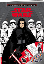 okładka Star Wars Kolorowanka i naklejki, Książka  