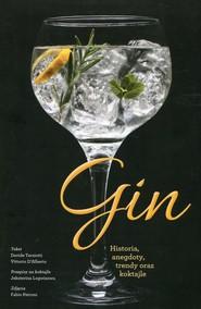 okładka Gin Historia, anegdoty, trendy oraz koktajle, Książka | Terziotti Davide