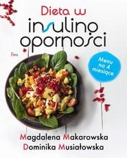 okładka Dieta w insulinooporności, Książka | Magdalena Makarowska, Dominika Musiałowska