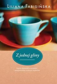 okładka Z jednej gliny, Książka | Liliana Fabisińska