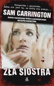 okładka Zła siostra, Książka | Sam Carrington