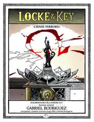 okładka Locke & Key - Cienie terroru Kolorowanka dla dorosłych, Książka   Joe Hill
