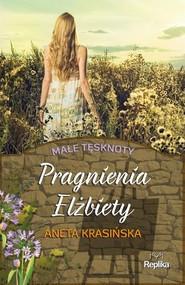 okładka Pragnienia Elżbiety Małe tęsknoty, Książka | Aneta Krasińska