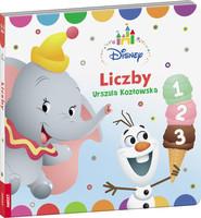 okładka Disney Maluch Liczby DBN-7, Książka | Urszula Kozłowska