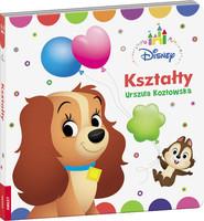 okładka Disney Maluch Kształty DBN-8, Książka | Urszula Kozłowska