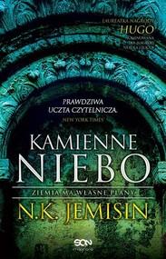 okładka Kamienne niebo Ziemia ma własne plany, Książka   N.K. Jemisin