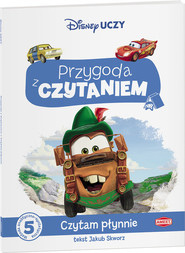 okładka Auta Przygoda z czytaniem PCA-1, Książka | Jakub Skworz