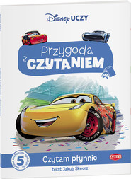 okładka Auta 3 Przygoda z Czytaniem PCA-3, Książka | Jakub Skworz