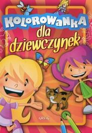 okładka Kolorowanka dla dziewczynek, Książka |