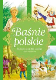 okładka Baśnie polskie Maciejowe wąsy, Kije samobije i inne opowieści, Książka | Zięba Aleksandra