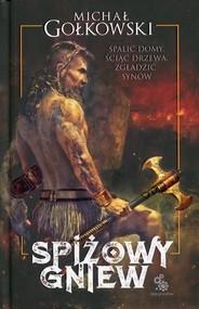 okładka Spiżowy gniew, Książka | Michał Gołkowski