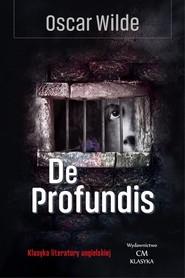 okładka De profundis, Książka | Oscar Wilde