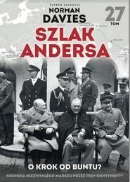 okładka Szlak Andersa 27 O krok od buntu, Książka |
