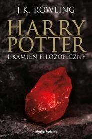 okładka Harry Potter i kamień filozoficzny, Książka   Rowling Joanne