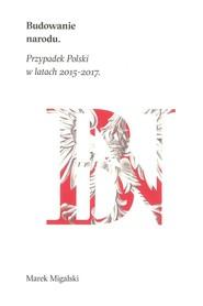 okładka Budowanie narodu, Książka | Marek Migalski