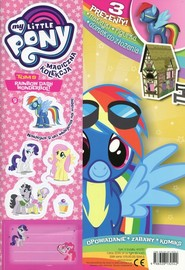 okładka My Little Pony Magiczna kolekcja 9 Rainbow Dash Wonderbolt, Książka |