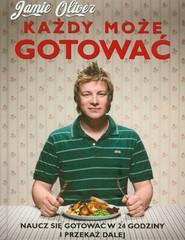 okładka Każdy może gotować, Książka | Oliver Jamie