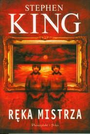 okładka Ręka mistrza, Książka   Stephen King