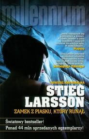 okładka Zamek z piasku, który runął, Książka | Stieg Larsson