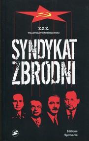 okładka Syndykat zbrodni, Książka | Władysław Bartoszewski