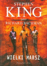 okładka Wielki Marsz, Książka | Stephen King