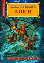 okładka Niuch, Książka | Terry Pratchett
