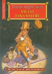 okładka Świat finansjery, Książka | Terry Pratchett