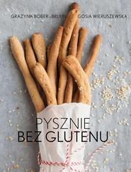okładka Pysznie bez glutenu, Książka | Bober-Brujin Grażyna