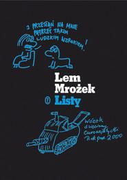 okładka Listy, Książka | Sławomir Mrożek, Stanisław Lem