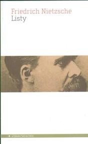 okładka Listy, Książka   Friedrich Nietzsche