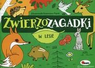 okładka Zwierzozagadki W lesie, Książka | Kwiecińska Mirosława