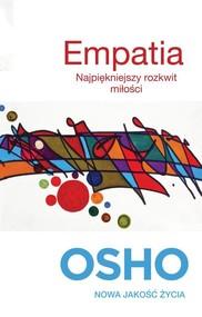 okładka Empatia. Najpiękniejszy rozkwit miłości, Książka | OSHO