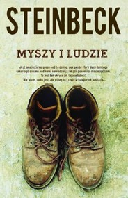 okładka Myszy i ludzie, Książka | John Steinbeck
