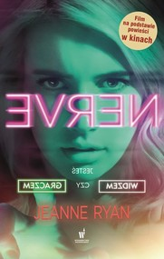 okładka Nerve, Książka   Jeanne Ryan
